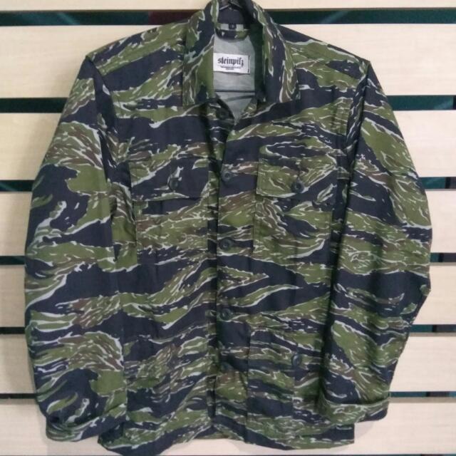 afd035bcce84e Field Tiger Stripe Jacket By Steinpilz, Men's Fashion, Men's Clothes ...