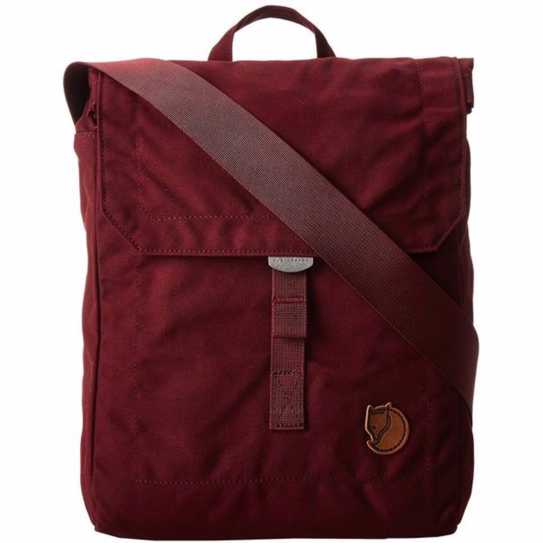 FJALLRAVEN No 3 Foldsack in Plum