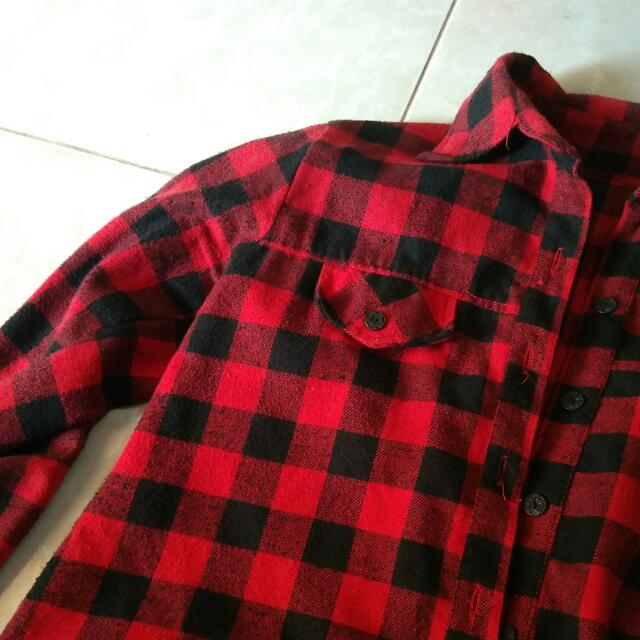 Flanel Red Shirt