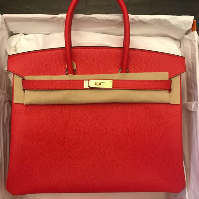 85ebcca28c Hermes , Birkin 35, rouge tomate, brand new in box, Luxury, Bags ...