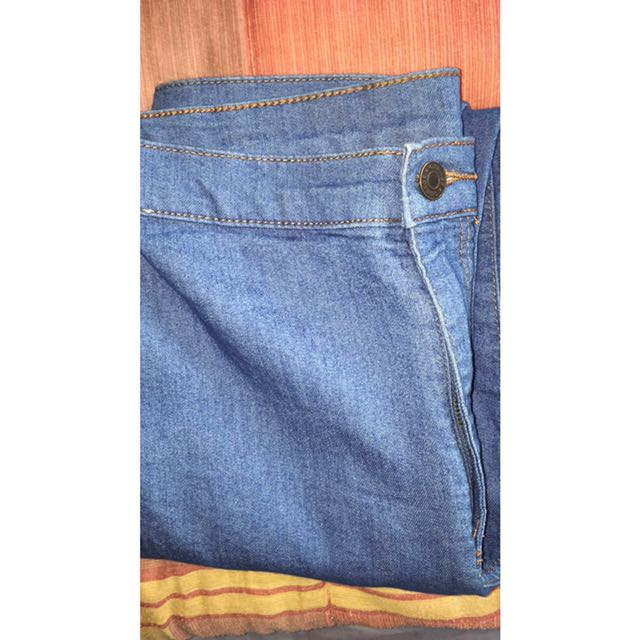 High wasted jeans from garage