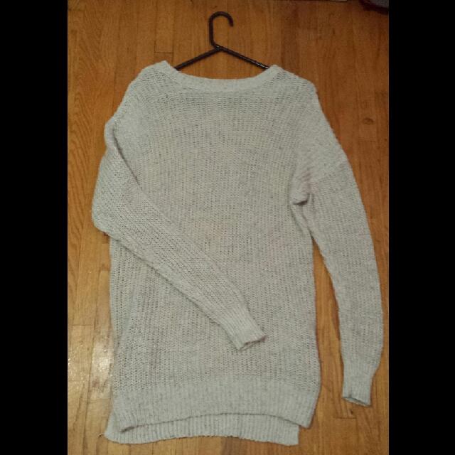 Hollister Oversized Knit Sweater/dress