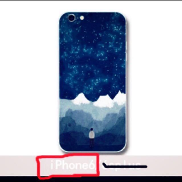 iPhone6星空插畫手機殼保護殼