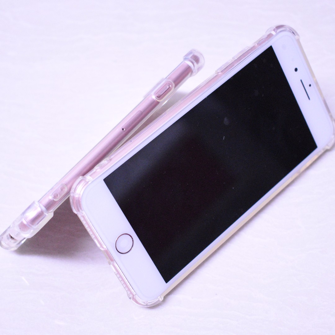 competitive price 16e68 d9860 iPhone 6 / 6s Casing Bening anticrack / anti crack case softcase ...