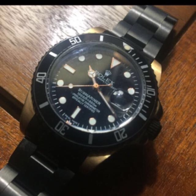 "Jam Rolex Submariner ""Oyster Perpetual Date"""