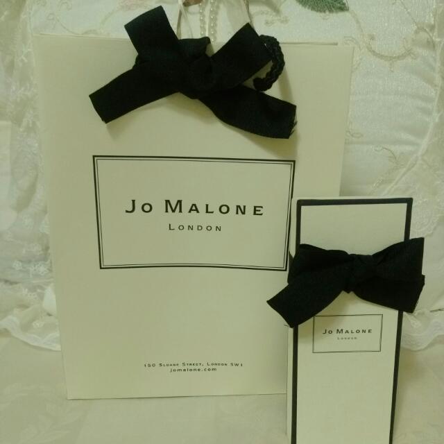 Jo Malone祖馬龍紙袋紙盒