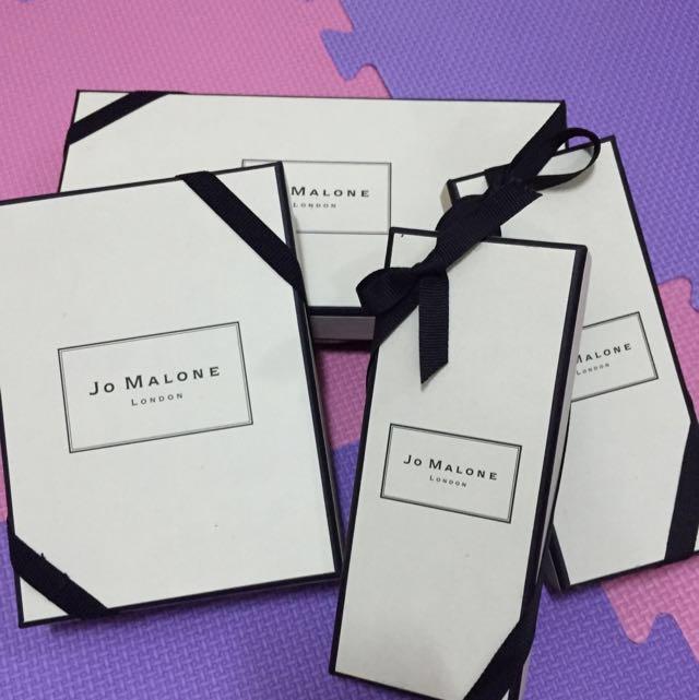 JoMalone 香水盒