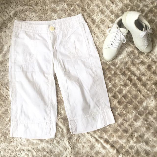 Kenzie White Khakis