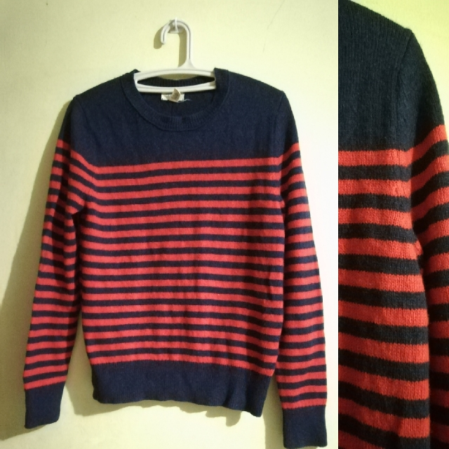 Striped Knitted Pullie Sweater