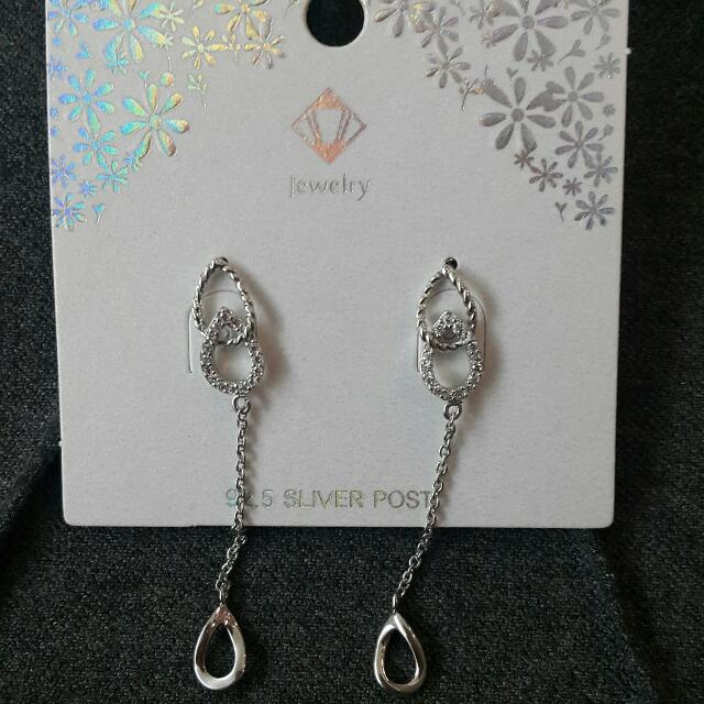 Korean Silver Fashion Earrings