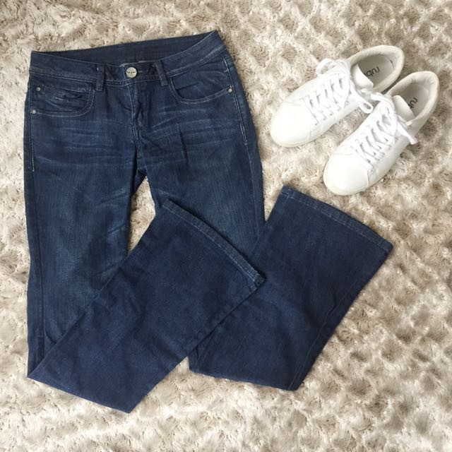 Levi's Denim Flare Pants