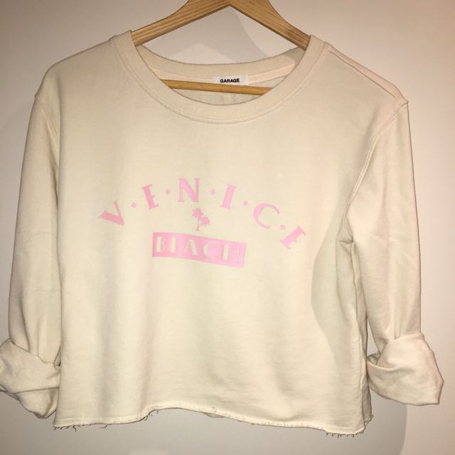 light yellow crop sweater