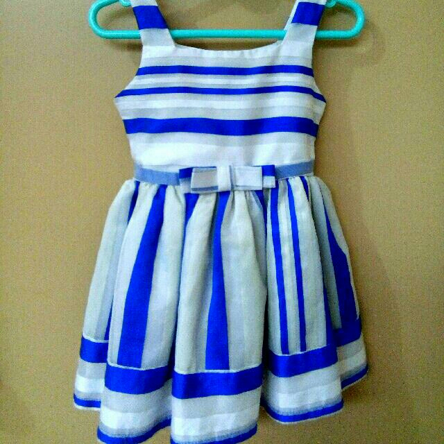 Little Miss Blue Dress