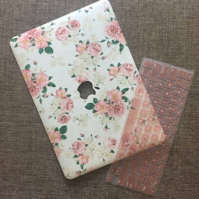 Macbook Air Top Case (floral)