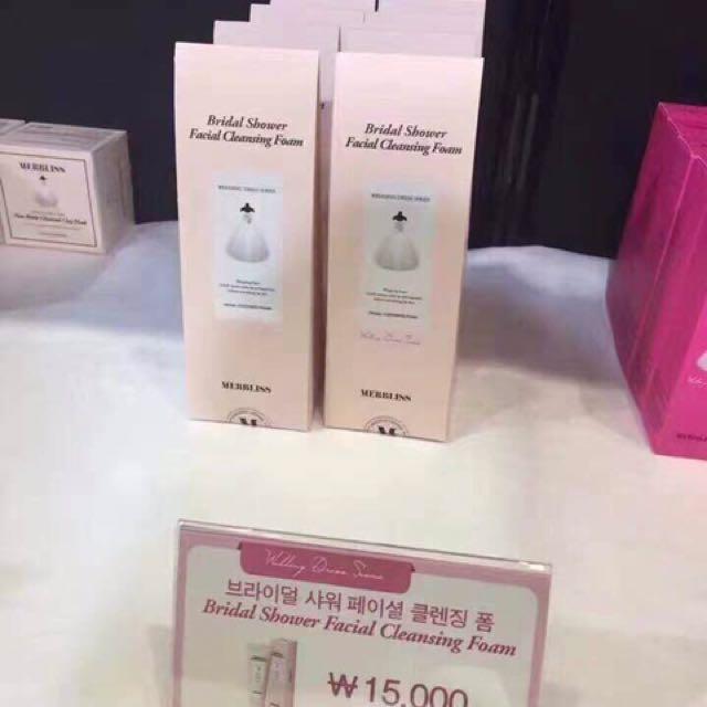 韓國merbbliss婚紗洗面乳