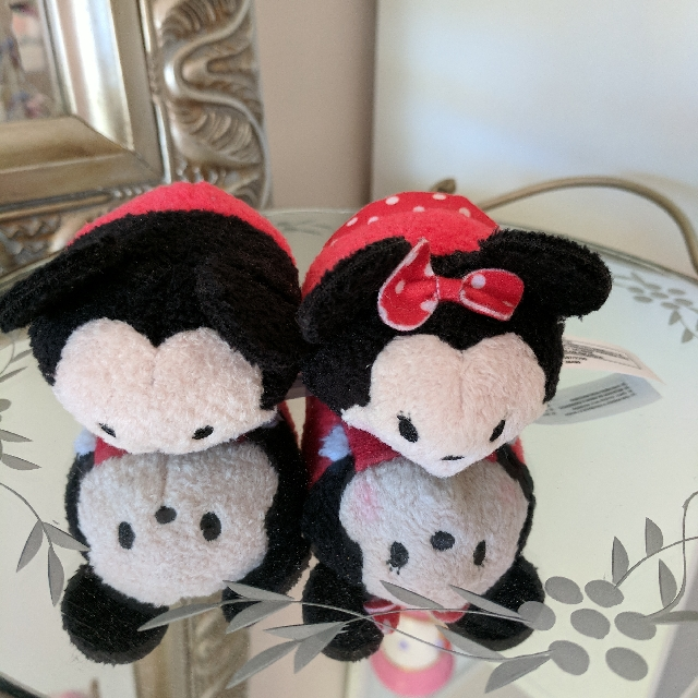 Mickey And Minnie Tsum Tsums