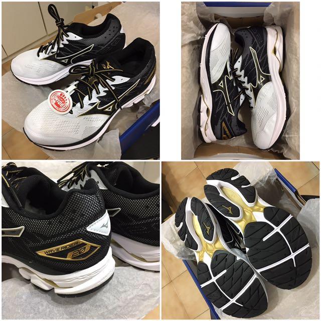 MIZUNO男慢跑鞋WAVE RIDER 20 (2017年6月新款