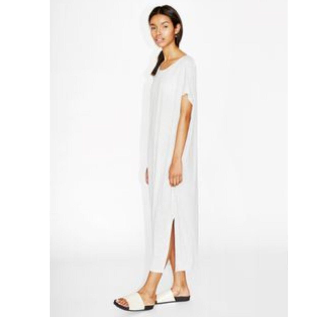 MONKI Ninni Dress in Grey Cloud Melange