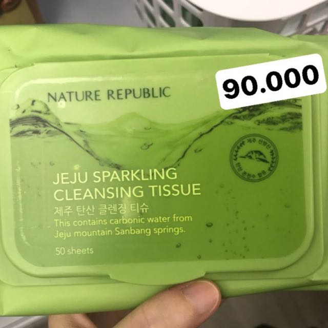 nature republic cleansing wipes