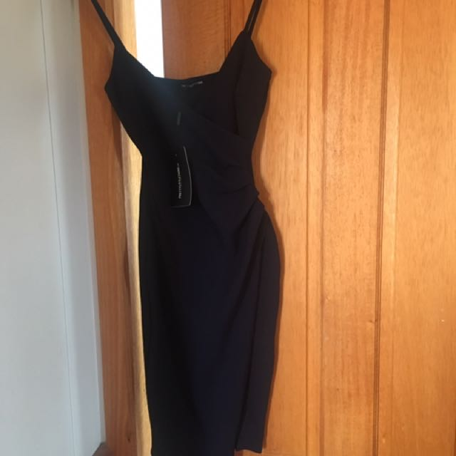 Navy Blue, Pretty Little Thing Dress Size 6