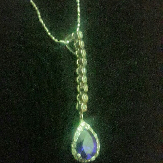 Necklace with Amethyst Pendant!