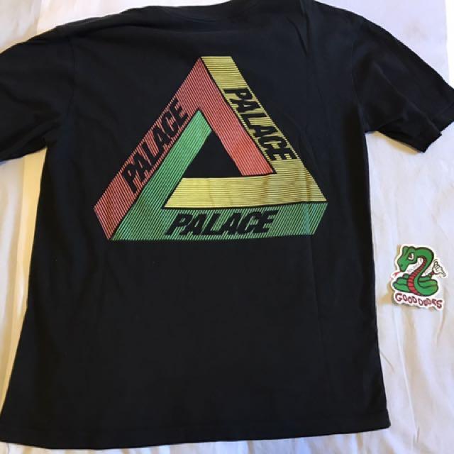 30e2310e0d4b Palace Tri Ferg Rasta Lines tshirt supreme