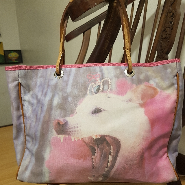 🔻☡PAYDAY SALE!☡🔻 Anya Hindmarch Blue Label Small Tote Bag For Dog Lovers🐩