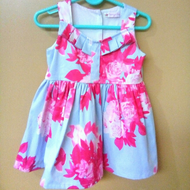 Peppermint Baby Elegant Floral Dress