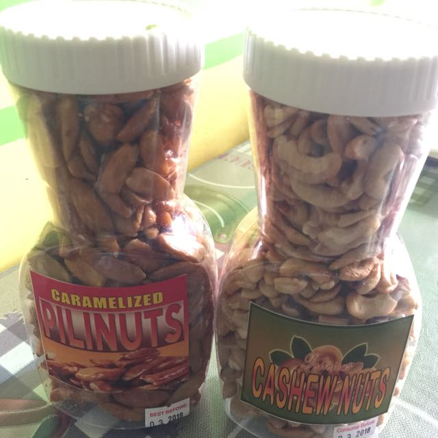 Pili and Cashew Nuts