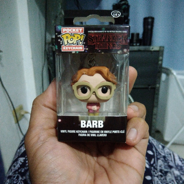 Pocket Pop Keychain (BARB of STRANGER THINGS)