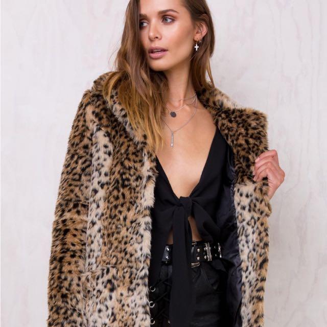 Princess Polly Fur Coat