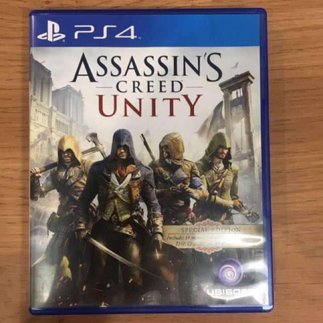 PS4 Assasin's Creed Unity