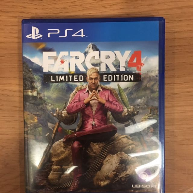 PS4 FARCRY4 Limited Edition
