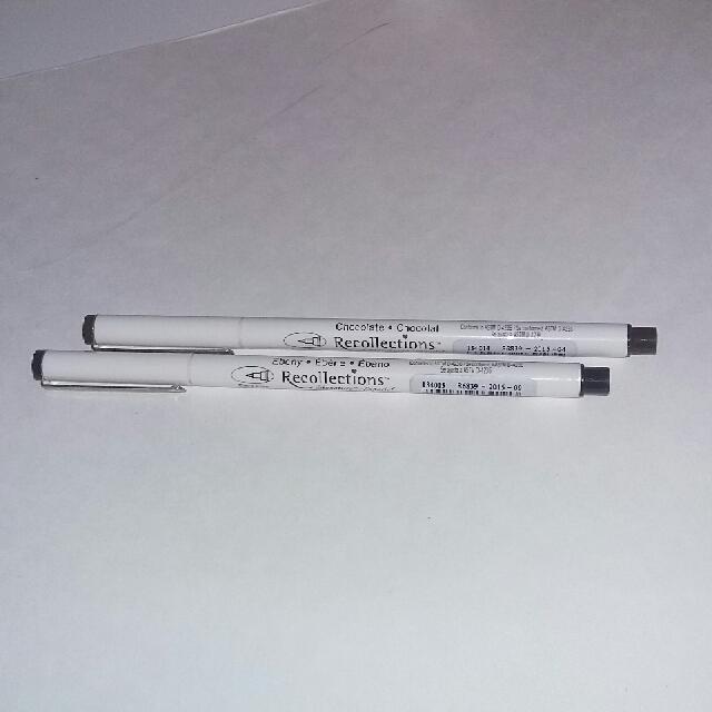 Recollection Fineliner Pens