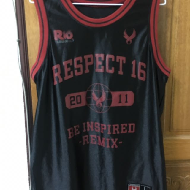 REMIX  R16  RESPECT 2011限定 經典 球衣 背心