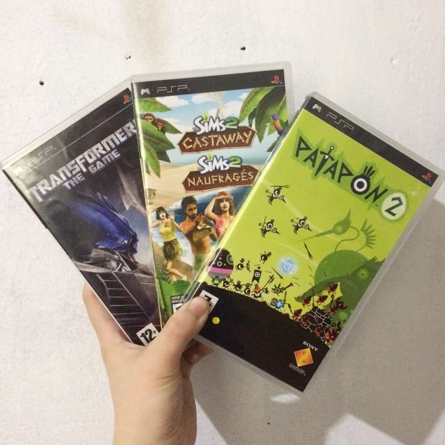 Repriced PSP Games