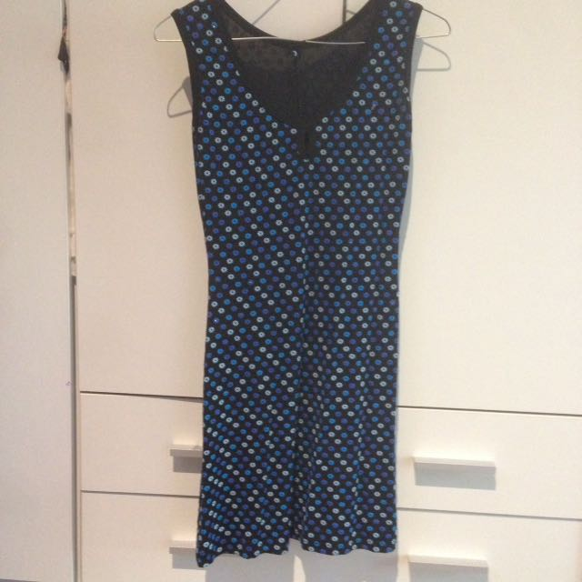 Retro stretch dress