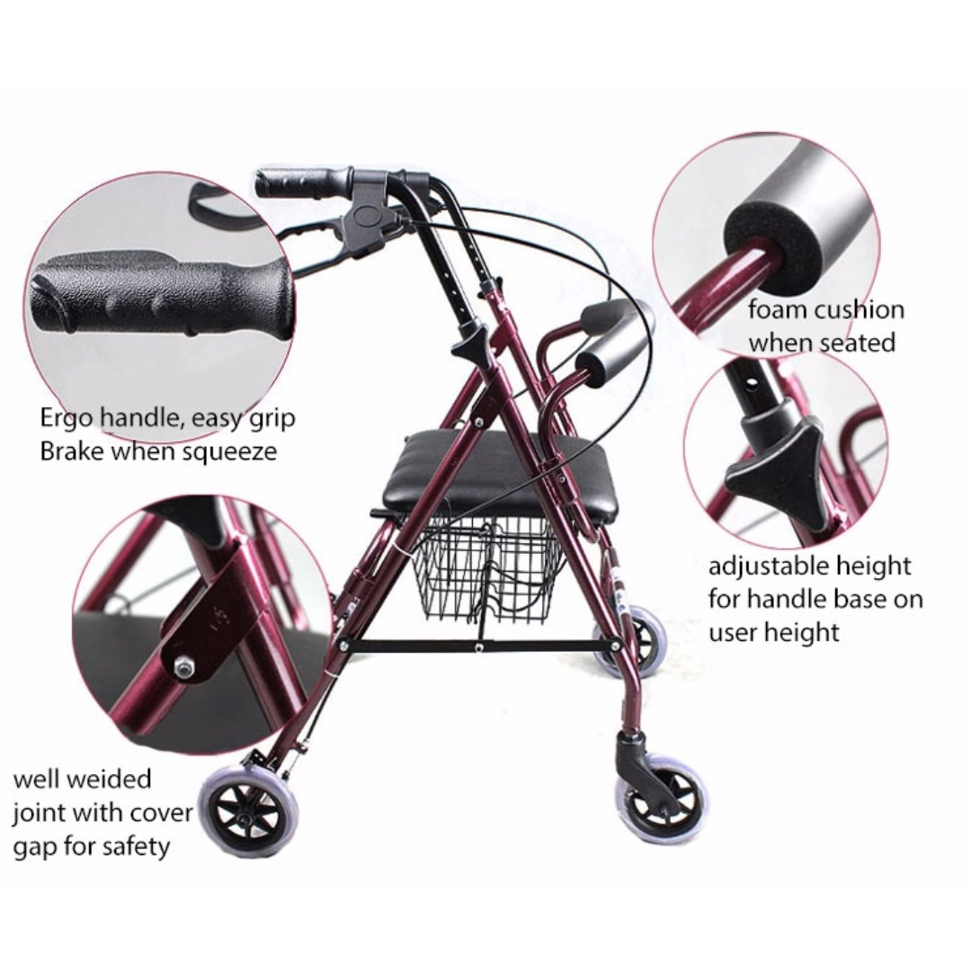 Rollator Walker, Everything Else, Others on Carousell