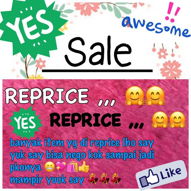 SALE REPRICE