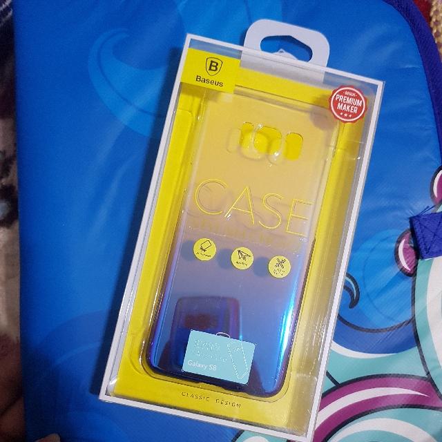 Samsung S8 Baseus琉璃光手機殼