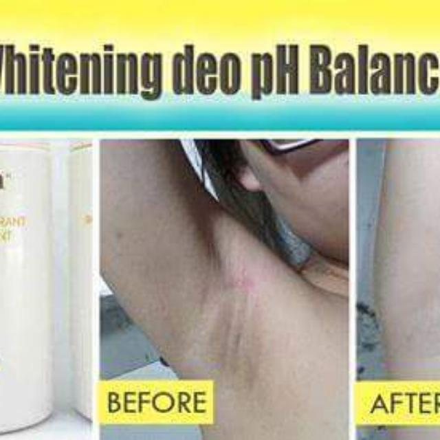 Scion whitening deodorant