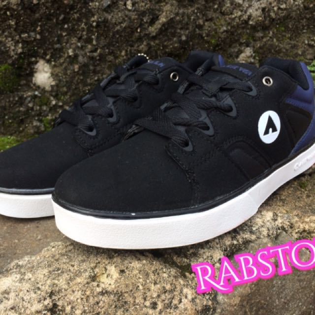 Sepatu Airwalk Original Homer Black Blue