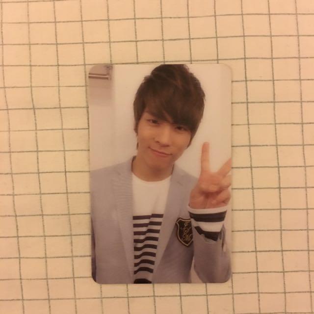 Shinee Jonghyun Lucifer Official Photocard