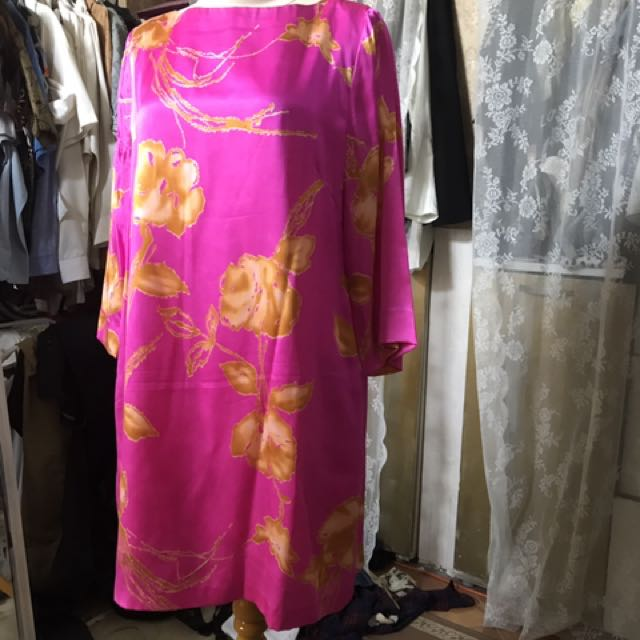 silk dress by kampung butik