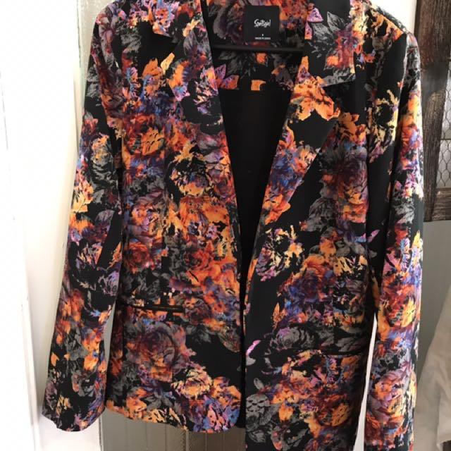 Sports girl Floral jacket - 8