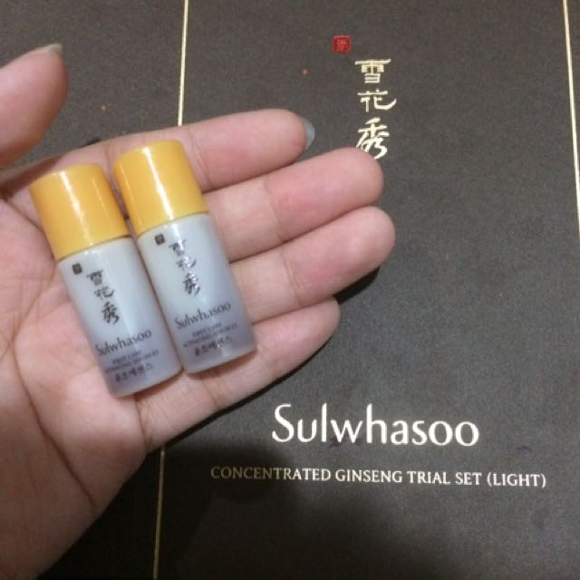 Sulwhasoo First Care Activating Serum EX 4ml + Essential Firming Cream EX 5ml