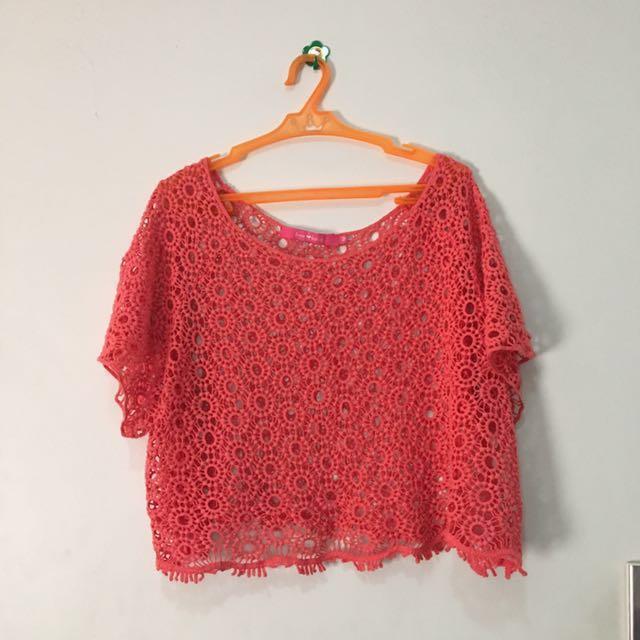 Summer Pink Top