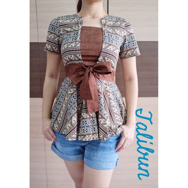 TALIBUN batik top