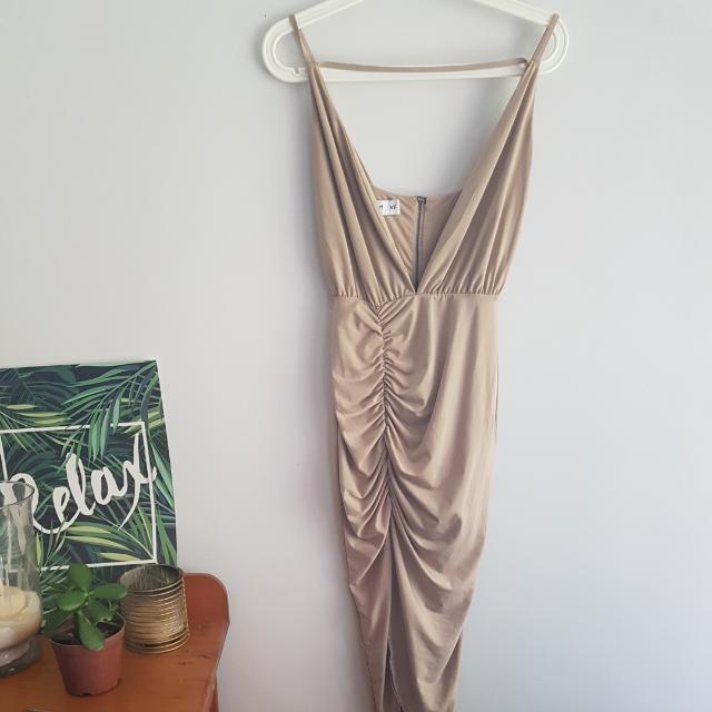 Tigermist Nude Dress
