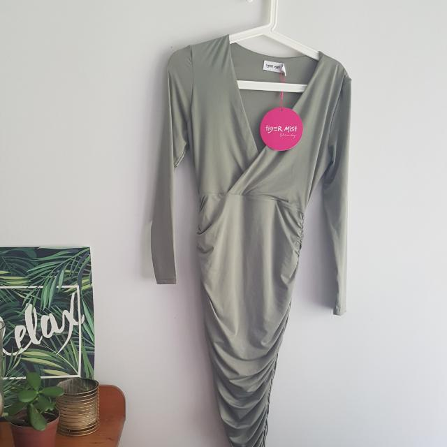 Tigermist Slinky Dress Brand-new